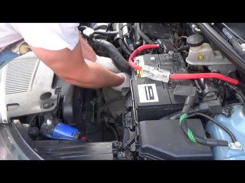 Чистка дроссельной заслонки на Kia Rio III