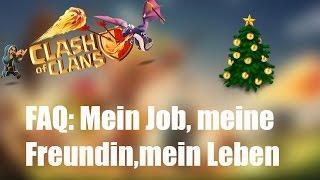 LIVE ANGRIFFE UND FRAGEN: Mein Job, meine Freundin, mein Leben ✭ Clash of Clans [deutsch / german]