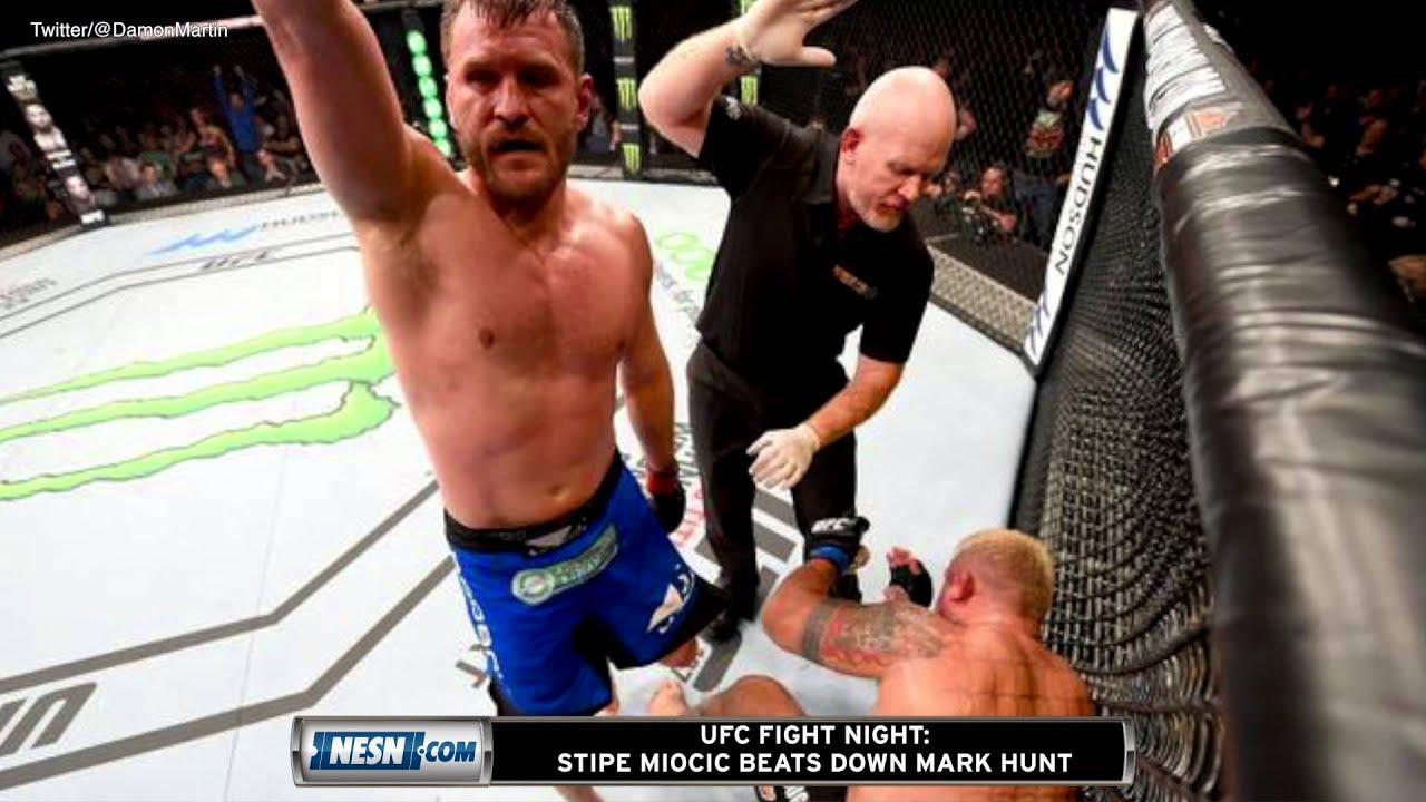 UFC Fight Night: Miocic vs. Hunt