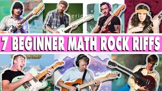 7 Beginner Math Rock Riffs - Tiny Moving Parts, American Football, Delta Sleep, Tera Melos, TFOT