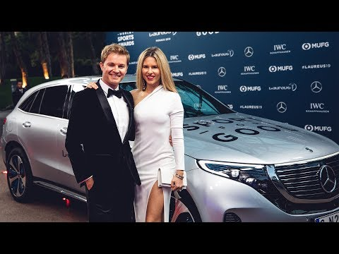 NOVAK DJOKOVIC & MERCEDES EQC AT LAUREUS 2019 | NICO ROSBERG | eVLOG