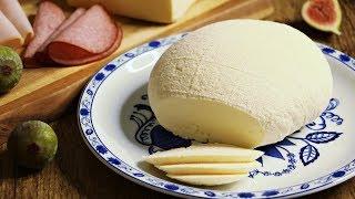 Brzi domaci sir bez sirila - kravlji sir - masni sir - homemade cheese without rennet!