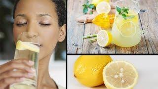 Trink Zitronenwasser am Morgen und das wird mit deinem Körper passieren