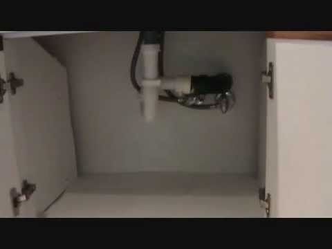 How to fix a leaking sink trap youtube for Bathroom p trap leak