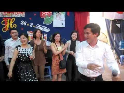 Màn trình diễn Breakdance trong đám cưới anh Phú :))