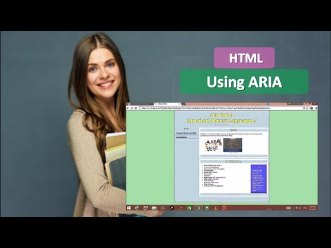 HTML5-ARIA ROLE with Example