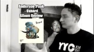 Anderson .Paak Oxnard Album Review HipHop Xertified