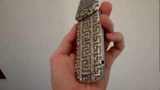 Motorola Gleam+ Bedazzled in Swarovski Crystals Designed in Ancient Greek Motifs Thumbnail