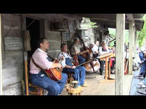 """Homestead Pickers @ Silver Dollar City / """"Give Me Jesus"""""""