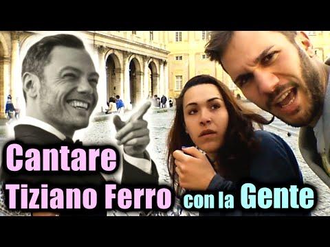 Cantare Tiziano Ferro insieme alla Gente - #Candid