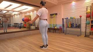 POMPAS FITNESS  EN 10 MINUTOS entrena con Ana Mojica