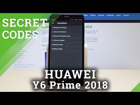 HUAWEI Y6 Prime 2018 SECRET CODES / Hidden Modes / Advanced Options
