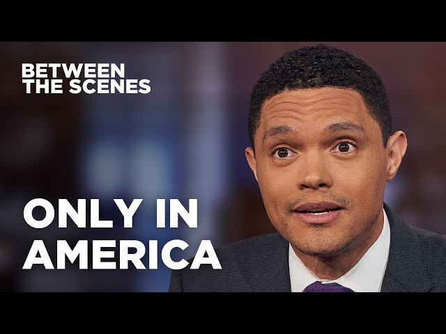 Eight Times America Surprised Trevor - Between the Scenes | The Daily Show