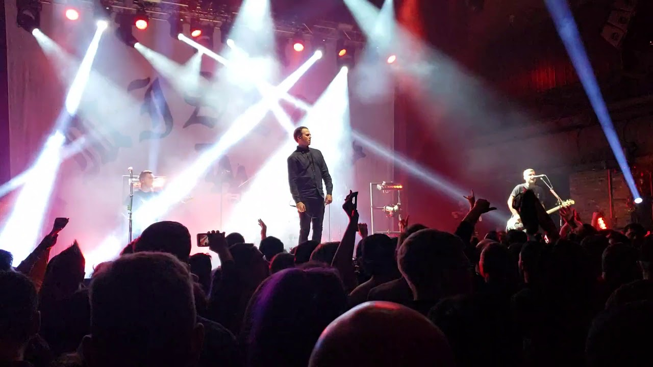 The Amity Affliction - Deaths Hand (Live) Misery Will Find You Tour 2019