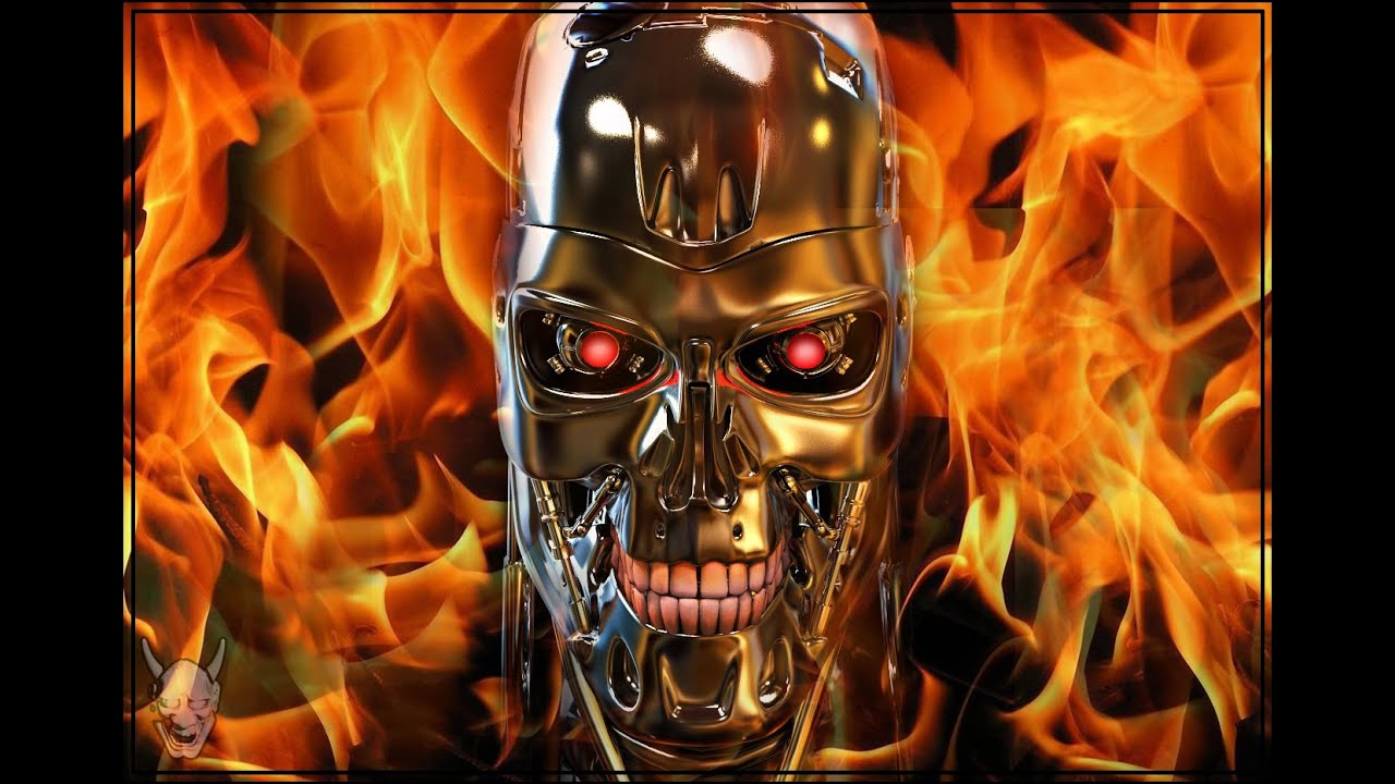 Feature Wall Wallpaper 3d Terminator Feels Like A Monster Youtube