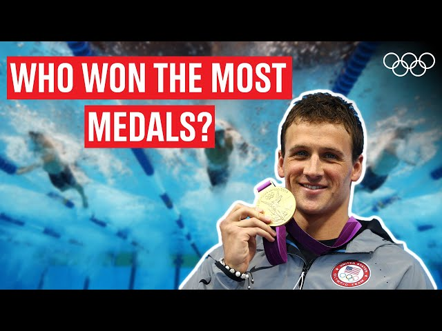 Most medalled Male swimmers in Olympic History!