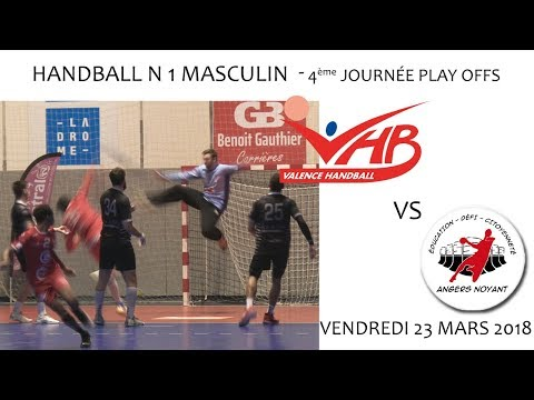 2018 03 23 Rencontres Sportives   Handball N1M Play Offs 4ème journée   VHB vs ANGERS