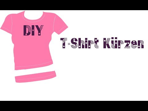 T Shirt professionell kürzen mit Hilfe von Zwillingsnadel