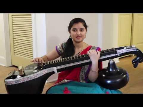 Rangamma Mangamma || Veena Cover || Rangasthalam Songs || MM Mansi || Ram Charan, Samantha