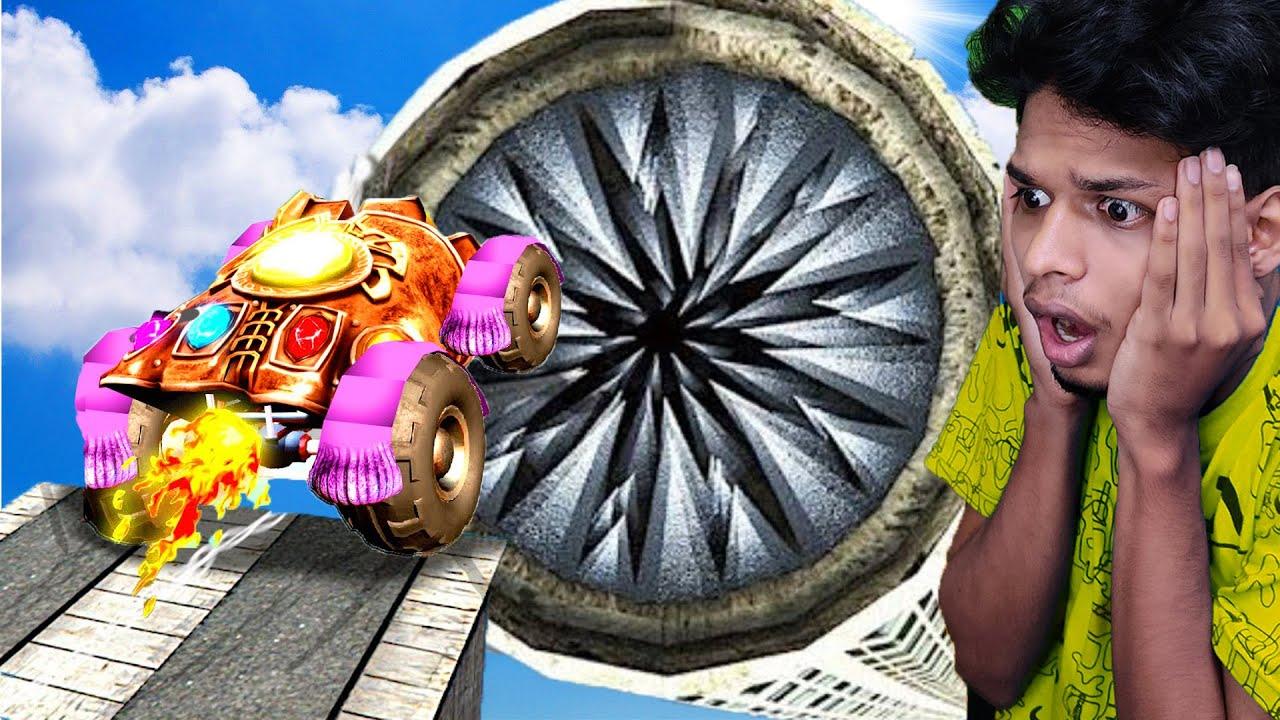 GTA 5 RP : Jumping THANOS * CAR * into MEGA Shredder !! Malayalam  