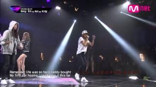 [繁中字]Cheetah & Jessi & Yuk JiDam - 아무도 모르게 (feat.Ailee) (Final Stage)