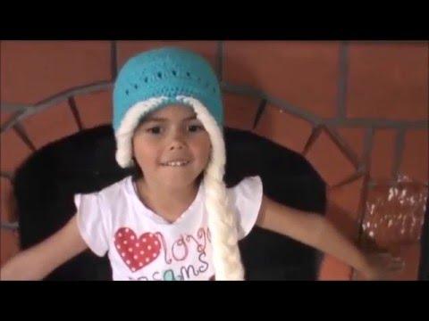 Como Hacer El Gorro de Elsa  Frozen en Crochet