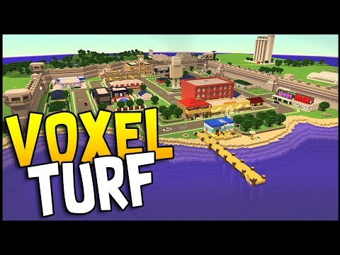 CONTROL AN ENTIRE CITY! NEW Sandbox Game - Voxel Turf Gameplay