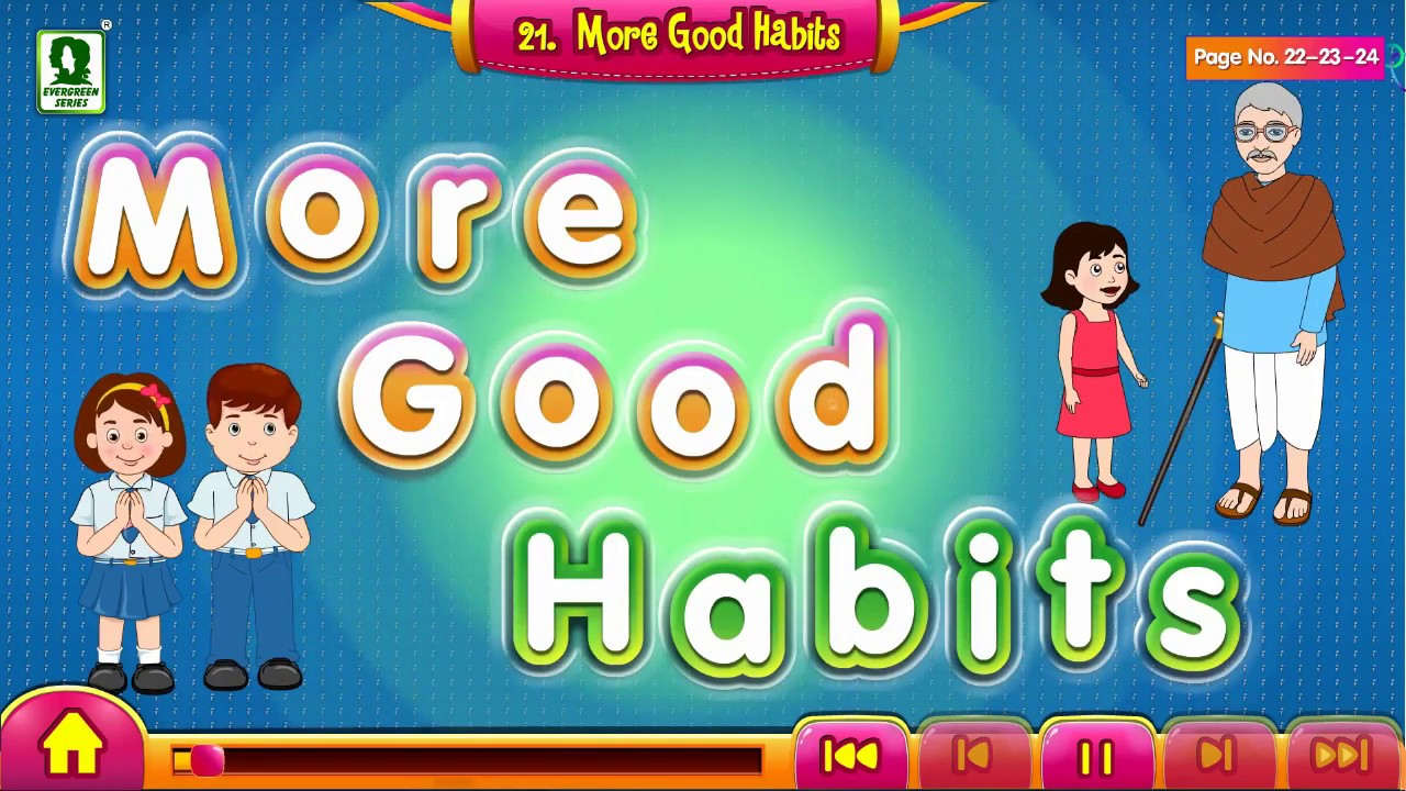 More Good Habits | Good Manners in Everyday Life for Kids | Animated Videos for Kids