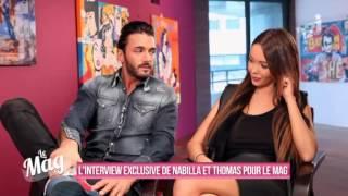 L'Interview de Thomas Vergara et Nabilla Benattia par Matthieu Delormeau pour Le Mag - Allô Nabilla