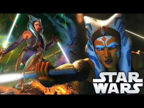 How Ahsoka Turned Her Lightsabers White and What it Means (Canon)