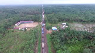 [BREAKING NEWS] Lintas Sumatera Palembang - Jambi AERIAL FOOTAGE