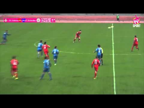FOOTBALL - Coupe de France - O Valence vs FC Echirolles - 24 10 2015