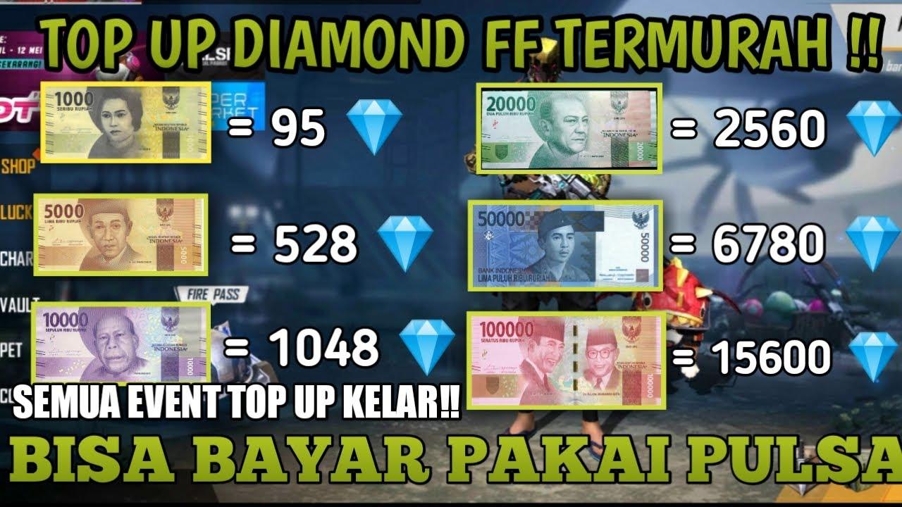 Akhirnya Ketemu Tempat Top Up Diamond Free Fire Murah Banyak Diskon Dan Bonusnya Youtube