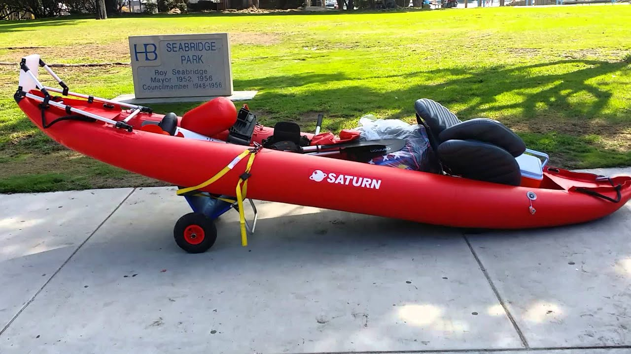 Kayak Saturn Inflatable Motor Mount 1 Youtube