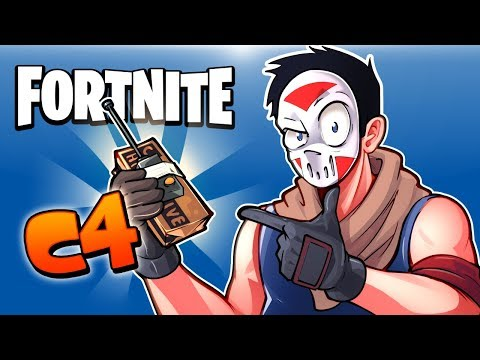 FORTNITE BR -  C4 Traps, Training Isabel, Impulse launches, Tower Traps and Fails! (Funny Moments!)