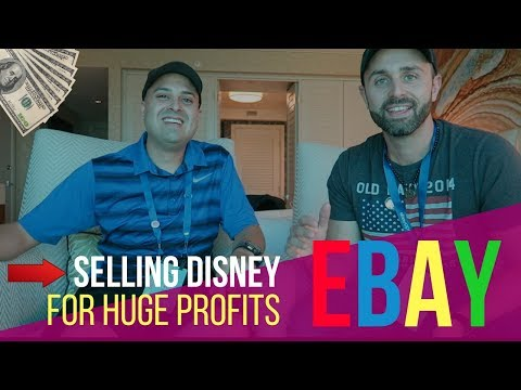He's Making A Full Time Income Selling Disney Items on eBay