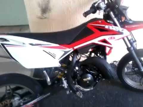 Presentation De Ma Moto Beta Rr Sm 50cc