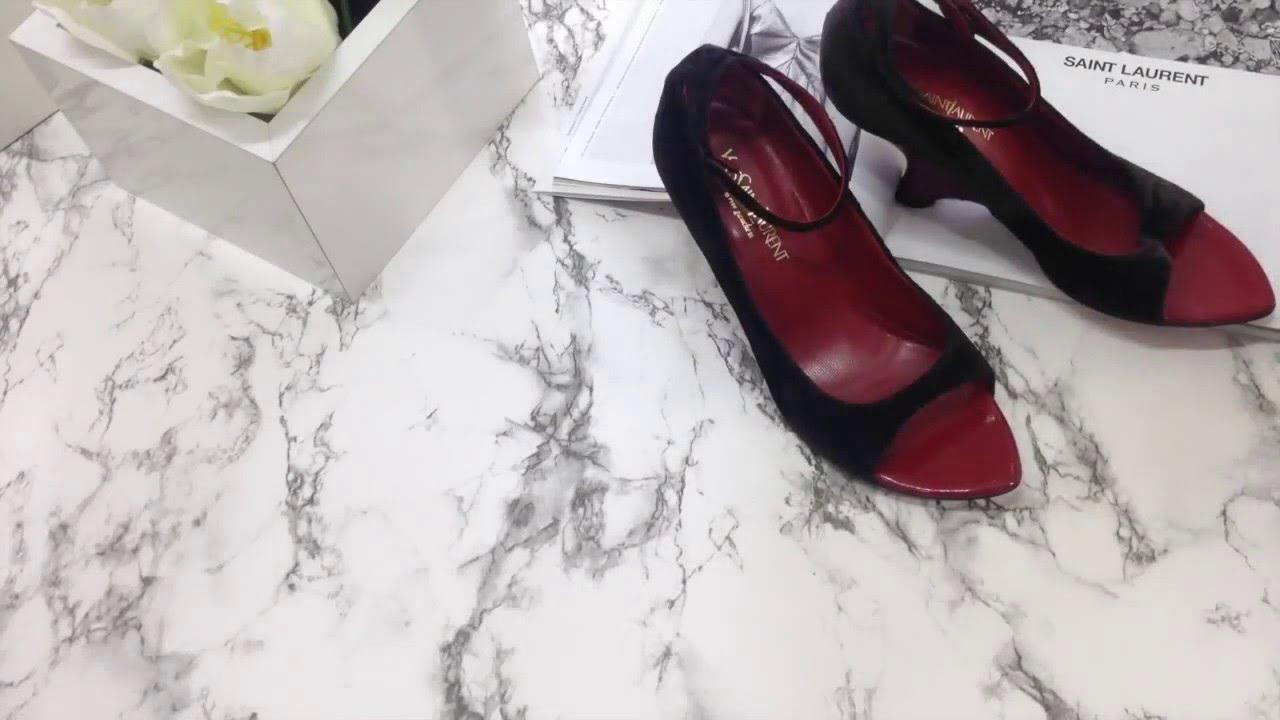 Saint laurent: одежда, обувь, сумки ✓ aw-ss 18 от 11416 ₽ с доставкой ✈ по россии. Saint laurent новинки каждый день!. Вот уже несколько модных декад yves saint laurent считается одним из самых инновационных и авторитетных брендов в мире моды. Туфли-лодочки 'anja 105'.