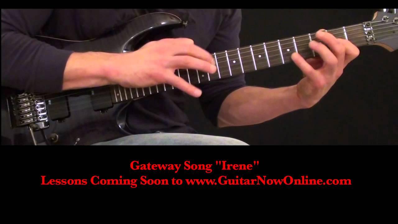 intermediate advanced guitar song irene youtube. Black Bedroom Furniture Sets. Home Design Ideas