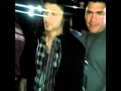Zayn at a Little Mix concert