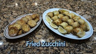 Italian Grandma Makes Fried Zucchini