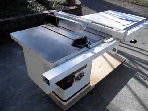 """Jet 40th Anniversary, Limited Edition, 10"""", Left Tilt, 220 V, 3HP  Pro Table Saw"""