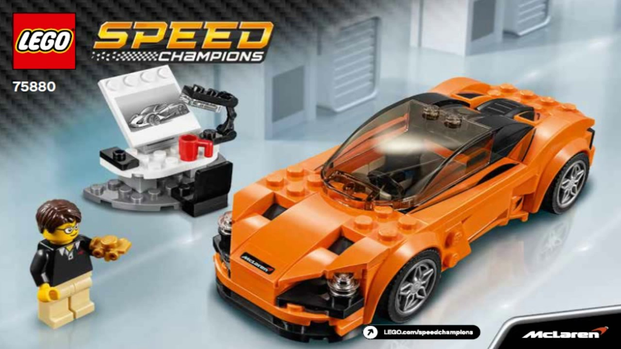 lego speed champions 2017 mclaren 720s 75880 youtube. Black Bedroom Furniture Sets. Home Design Ideas