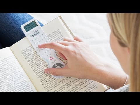 A bookmark that's smarter than you.