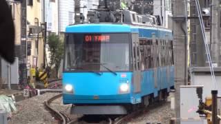 東急300系302F(モーニングブルー)下高井戸行き 世田谷線三軒茶屋~下高井戸前面展望
