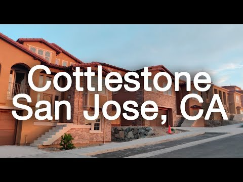 NEW HOMES WITH TINO: Cottlestone in San Jose, CA
