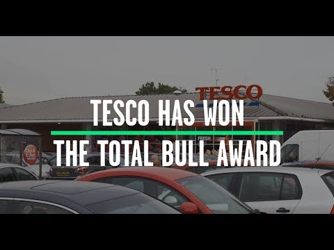 Tesco wins Total Bull award for fake farm branding