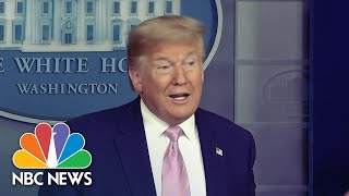 Trump Says Next Week Will Be The Worst Yet: 'There Will Be A Lot Of Death' | NBC Nightly News
