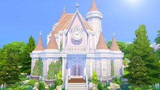 Building a Castle in The Sims 4 (Streamed 2/8/19)