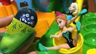 アナ エルサ バイキンマン おもちゃ アンパンマン コロロンパーク コロロンどきどきアスレチック イタズラ♡トマトおねえさん♡ thumbnail